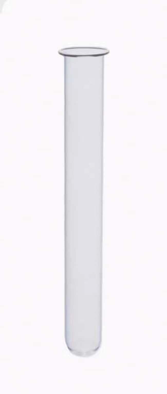 Fisherbrand™Borosilicate Glass Medium Wall Rimmed Test Tube: Test Tubes Tubes