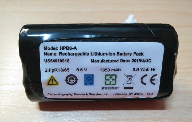 Fisherbrand™Ersatzbatterie für elektronische Bördelzangen und Entdeckler , Zubehör für Autosampler-Fläschchenverschlüsse