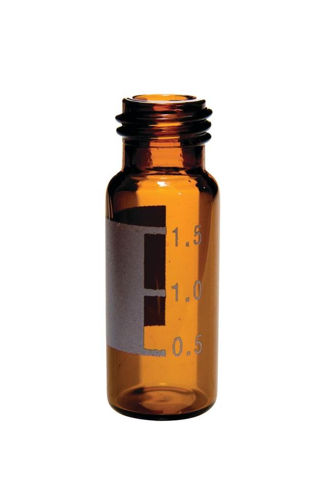 Fisherbrand9 mm Glass Screw Thread Vials:Vials:Autosampler Vials, Inserts,
