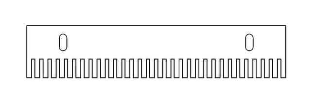 Fisherbrand™ Kämme für horizontale Gel-Einheiten Mini-Plus im Breitformat, 2mm dick  Produkte