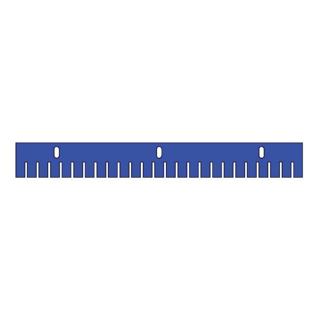 Fisherbrand™ Kämme für horizontale Gel-Einheiten Midi-Plus im Breitformat, 2mm dick Stärke: 2mm; Anzahl der Wells:25 Produkte