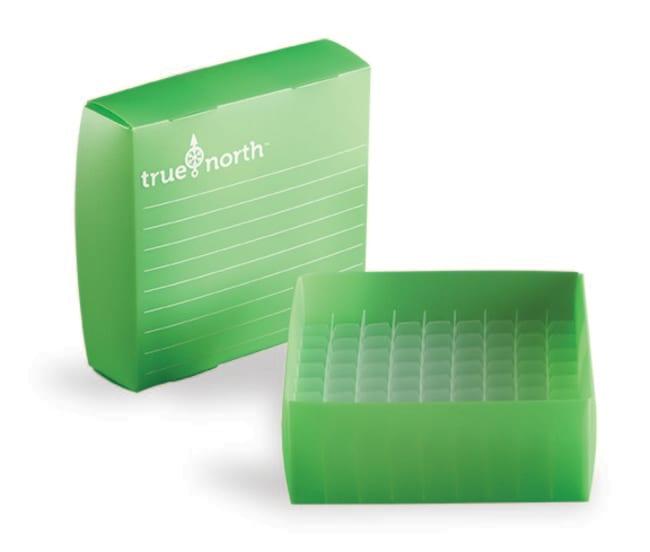 Fisherbrand™Cryoboîtes avec film en polypropylène Couleur: vert clair Fisherbrand™Cryoboîtes avec film en polypropylène
