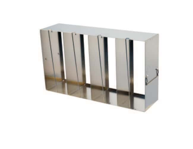 Fisherbrand™Upright ULT Freezer Racks Holds: 2 in. or 3in. boxes Fisherbrand™Upright ULT Freezer Racks