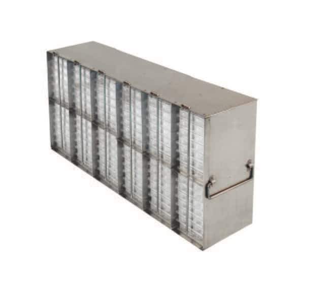 Fisherbrand™ Upright ULT Freezer Racks for Microtiter Plates Holds: 96 plates with lid Fisherbrand™ Upright ULT Freezer Racks for Microtiter Plates
