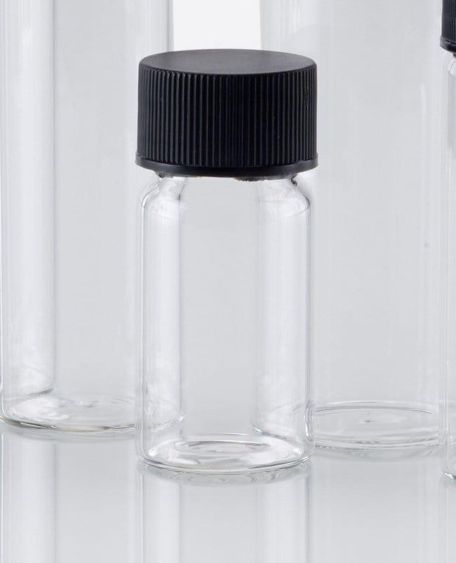Fisherbrand™Glas-Probenfläschchen mit Schraubverschluss Tall form; 21mL Fisherbrand™Glas-Probenfläschchen mit Schraubverschluss