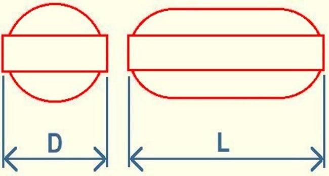 Fisherbrand™Farbcodierter Mikrorührstab aus PTFE Abmessungen (Durchm. x L): 3 Durchmesser x 10mm Fisherbrand™Farbcodierter Mikrorührstab aus PTFE