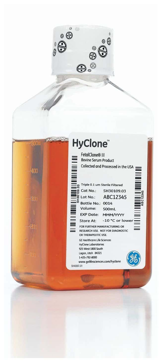 Cytiva (Formerly GE Healthcare Life Sciences) HyClone Fetal Clone II:Life