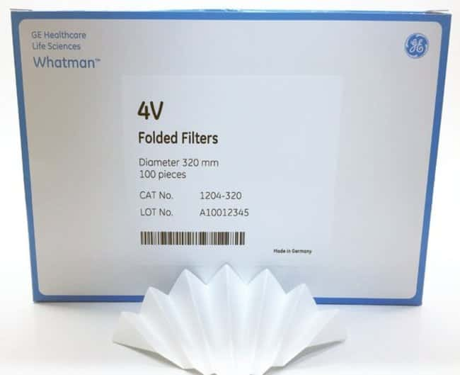 Cytiva (Formerly GE Healthcare Life Sciences)Grade 4V Qualitative Filter Papers, Fluted Diameter: 320mm Cytiva (Formerly GE Healthcare Life Sciences)Grade 4V Qualitative Filter Papers, Fluted