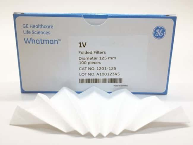 Cytiva (Formerly GE Healthcare Life Sciences) Grade 1V Qualitative Filter Papers, Fluted Diameter: 18.5cm Cytiva (Formerly GE Healthcare Life Sciences) Grade 1V Qualitative Filter Papers, Fluted