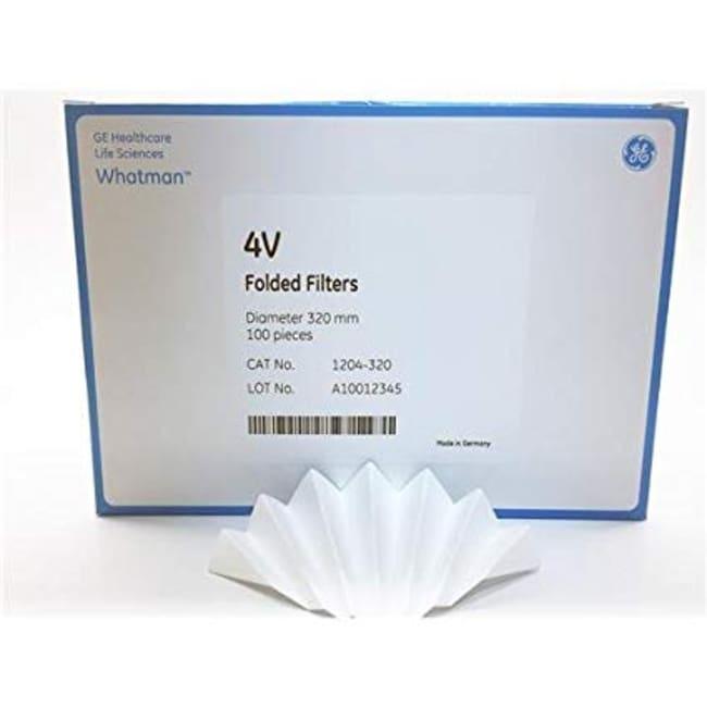 Whatman™Grade 4V Qualitative Filter Papers, Fluted: Filter Paper Filtration