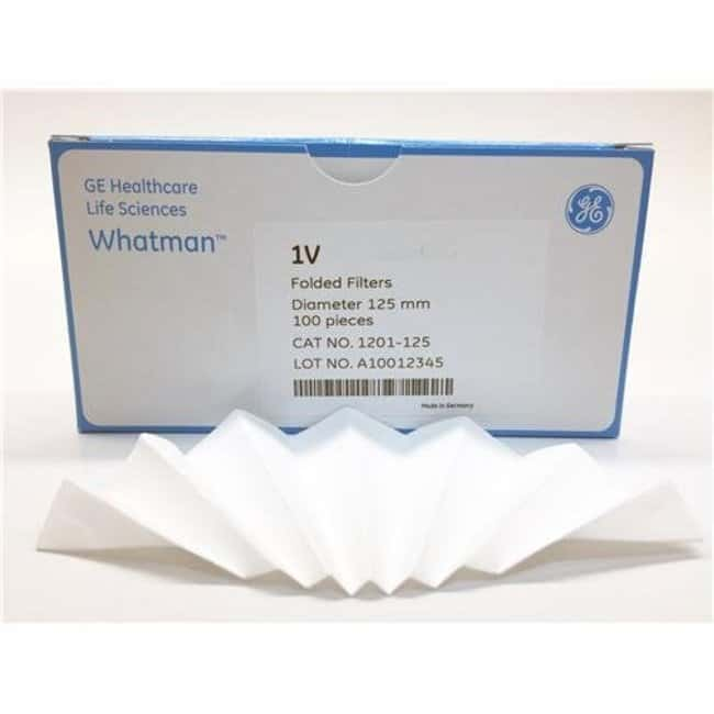 Whatman™ Grade 1V Qualitative Filter Papers, Fluted Diameter: 27cm Whatman™ Grade 1V Qualitative Filter Papers, Fluted