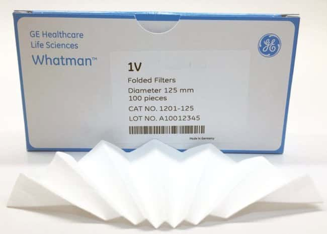 Cytiva (Formerly GE Healthcare Life Sciences)Grade 1V Qualitative Filter Papers, Fluted Diameter: 24cm Cytiva (Formerly GE Healthcare Life Sciences)Grade 1V Qualitative Filter Papers, Fluted