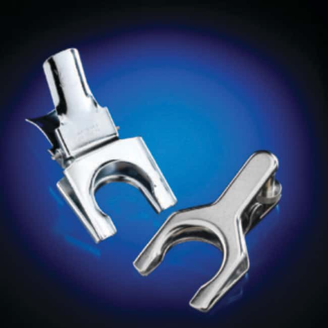 GPE Scientific™J Young Thumb Screw Lock Clips for Spherical Joints For use with 12/2 and 12/5 size spherical joints GPE Scientific™J Young Thumb Screw Lock Clips for Spherical Joints