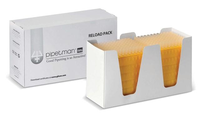 Gilson™PIPETMAN™ Diamond™ Pipette Tips - Reload Packs Model: D200; Vol. Range: 2 - 200μL; 10 racks x 96 tips Gilson™PIPETMAN™ Diamond™ Pipette Tips - Reload Packs