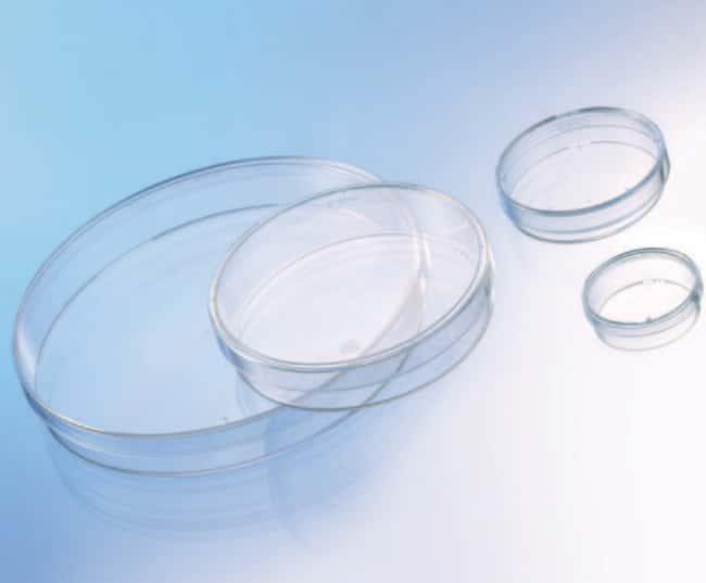 Greiner Bio-One™Boîtes de Pétri en polystyrène Capacity: 100mL; Dimensions (Dia. x H): 100 x 20mm Greiner Bio-One™Boîtes de Pétri en polystyrène
