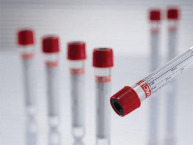 Greiner Bio OneVacuette Tube™, Premium, Red Cap-Yellow Ring, CAT Serum Separator Clot Activator, Sterile 2.5 mL Greiner Bio OneVacuette Tube™, Premium, Red Cap-Yellow Ring, CAT Serum Separator Clot Activator, Sterile