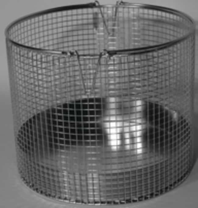 KinematicaHMC Vertical Autoclave Baskets HMC-HV 25 L; Basket with bottom; Dia. x H: 225 x 250mm KinematicaHMC Vertical Autoclave Baskets