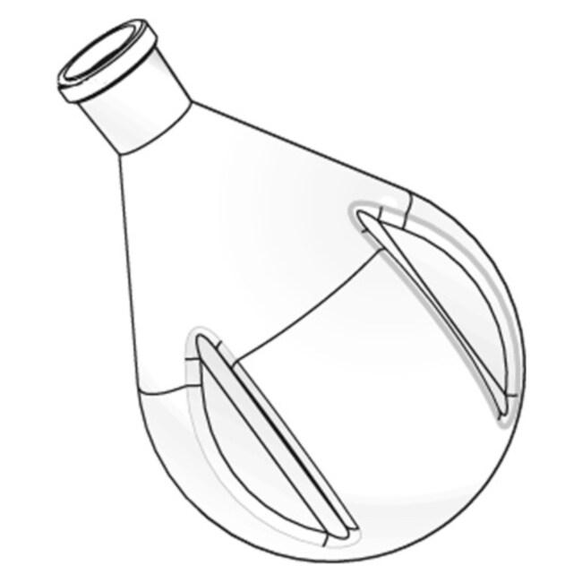 Heidolph™Powder flask Capacity: 1000mL Heidolph™Powder flask