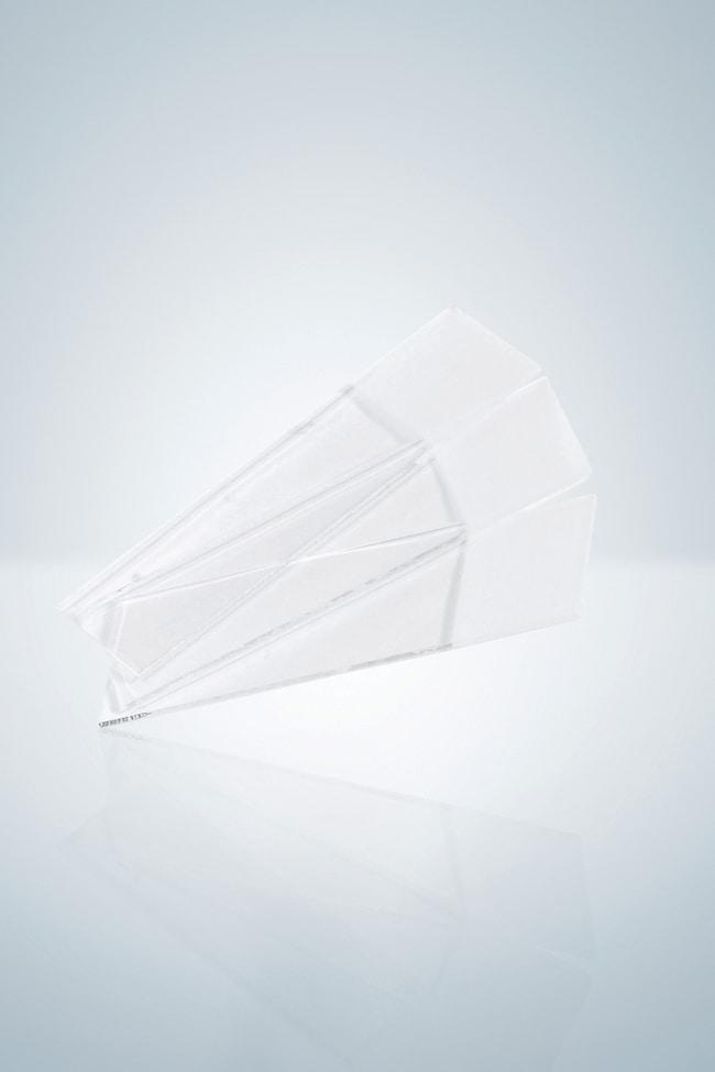 Hirschmann™Mikroskopobjektträger mit Schnittkanten Größe (LxB): 76x 26mm Beschichtete Objektträger aus Glas