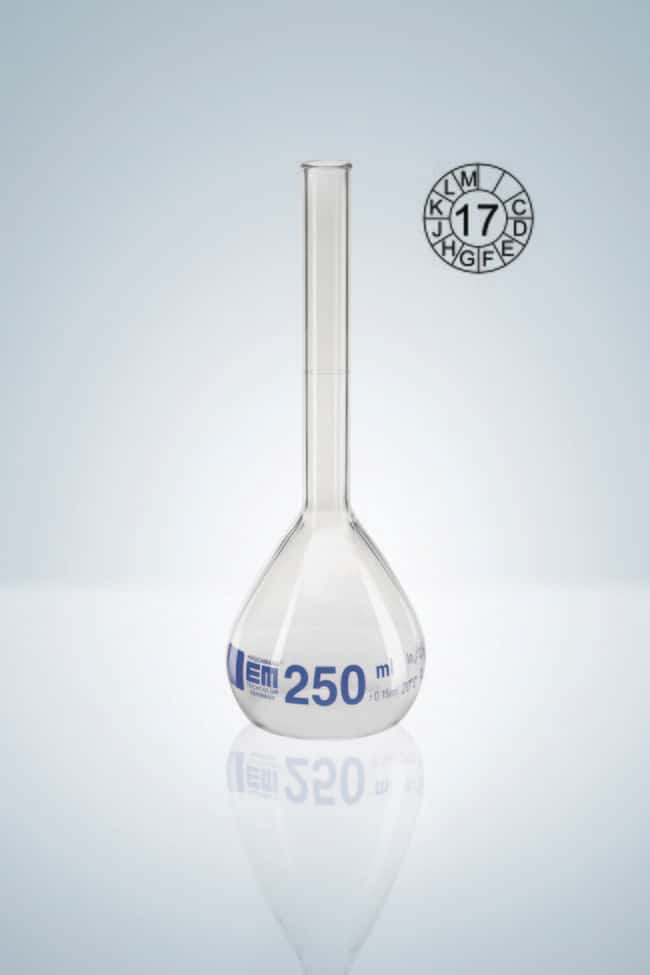 Hirschmann™Class A Volumetric Flasks with Rim Capacity: 5mL Hirschmann™Class A Volumetric Flasks with Rim