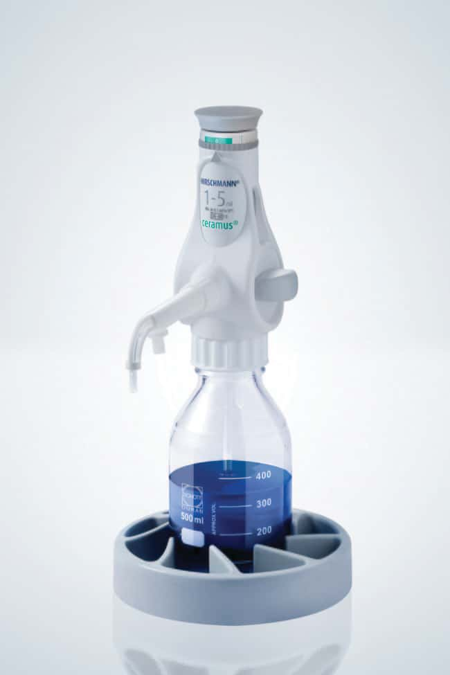 Hirschmann™Ceramus™ Dispensers Capacity: 1 to 5mL Hirschmann™Ceramus™ Dispensers