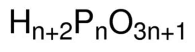 Polyphosphoric Acid, Reagent grade, 115% H<sub>3</sub>PO<sub>4</sub> basis, Honeywell&trade;: Inorganic Acids Acids