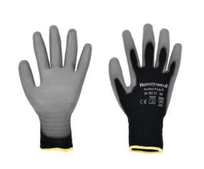Honeywell™PERFECT POLY™ schwarze Handschuhe Größe: 9 Produkte