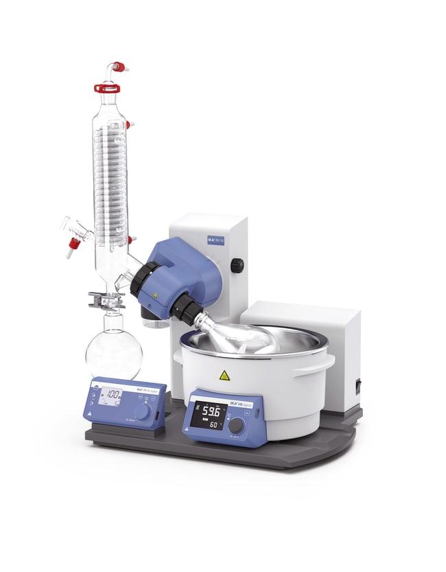 IKARV 10 digitalV IKA Rotary evaporator; Weight: 32.36 kg; Color: Blue/White Rotationsverdampfer