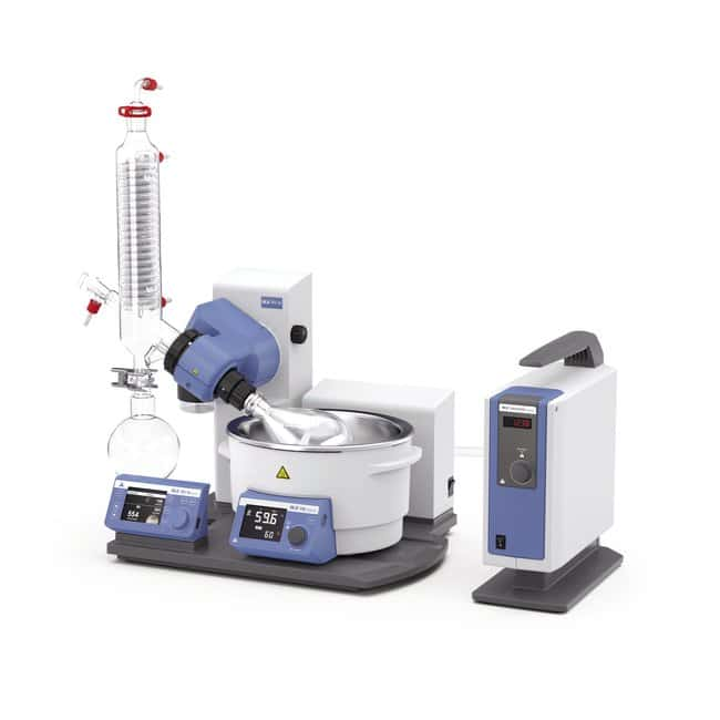 IKA RV 10 Auto Pro V-C IKA Rotary evaporator; Weight: 52.65 kg; Color: Blue/White Rotationsverdampfer
