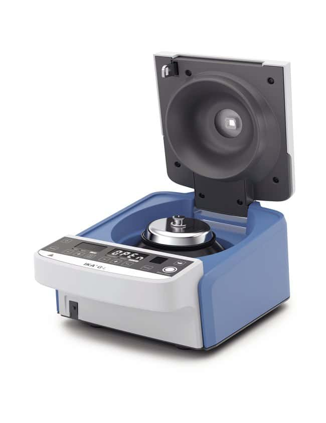 IKA™ G-L Centrifuge with UK Plug Dimensions (L x W x H): 200 x 140 x 280 mm Compact Bench Top Centrifuges