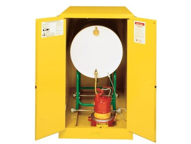 Justrite™Drum Cabinet Horizontal Single Drum Storage  Safety Drum Storage Cabinets