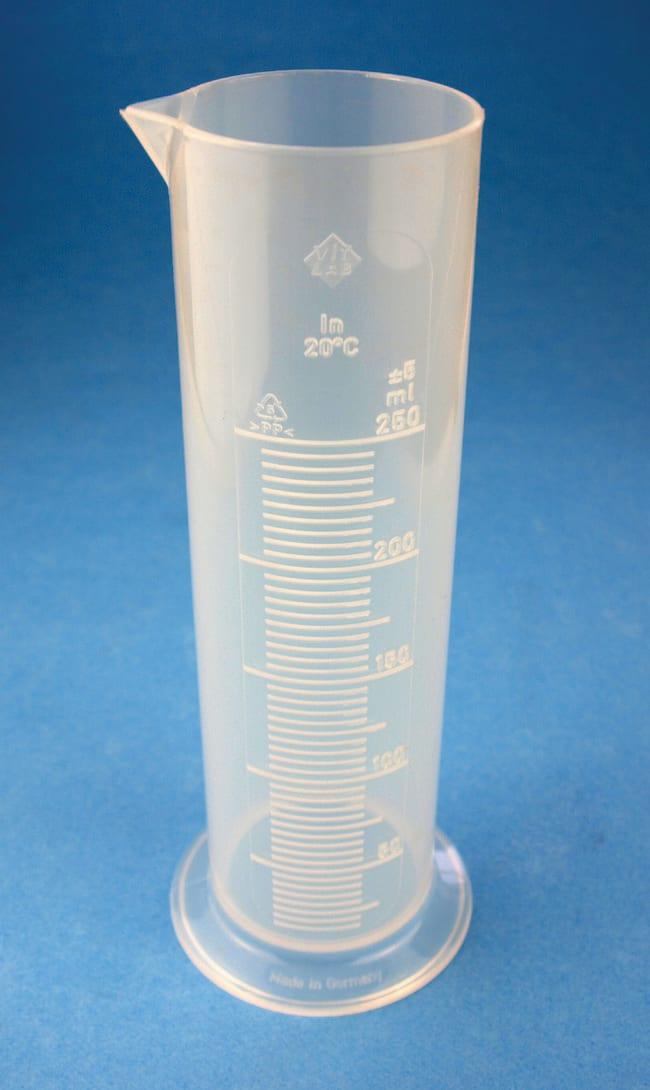 Karl Hecht™Messzylinder aus Polypropylen mit niedriger Form 100ml Kapazität Zylinder ohne Graduierung
