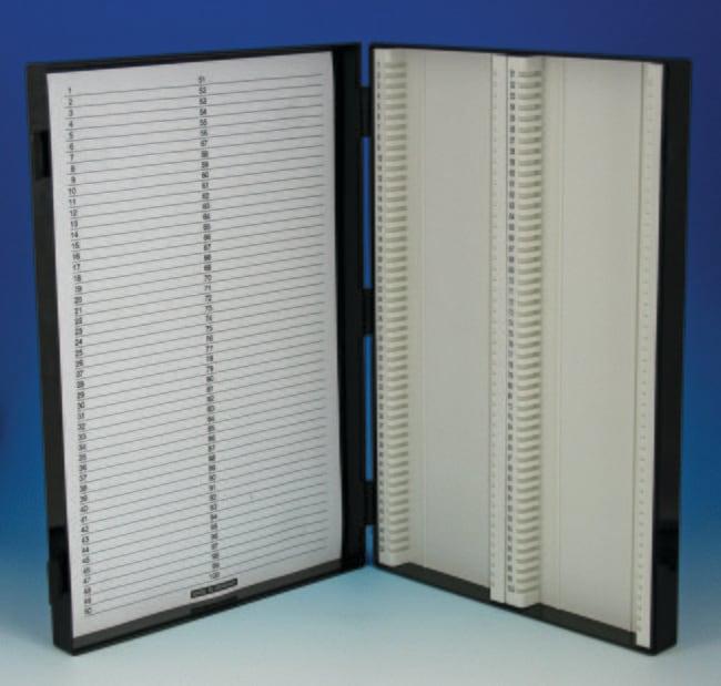 Karl Hecht™Assistent™ Antistatic Slide Cases Capacity: 100 microslides Karl Hecht™Assistent™ Antistatic Slide Cases