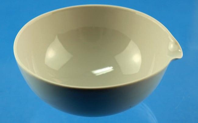 Karl Hecht™Porcelain Half-Round Evaporating Dishes 310mL capacity Karl Hecht™Porcelain Half-Round Evaporating Dishes