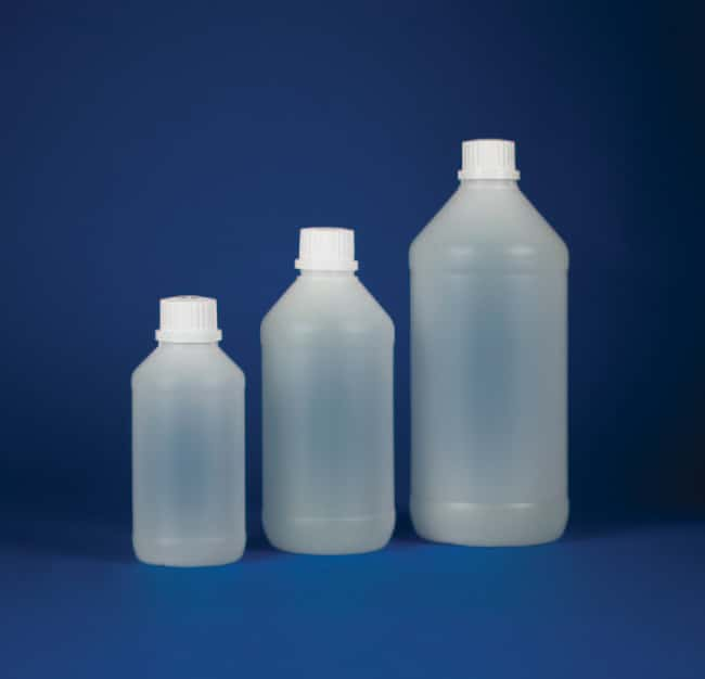 Kartell™Narrow Neck Bottle with White Tamper-Evident Cap Capacity: 1000mL Kartell™Narrow Neck Bottle with White Tamper-Evident Cap