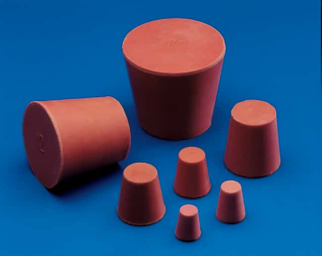 Kartell™ Red Rubber Conical Stoppers Size: 10 x 18mm products