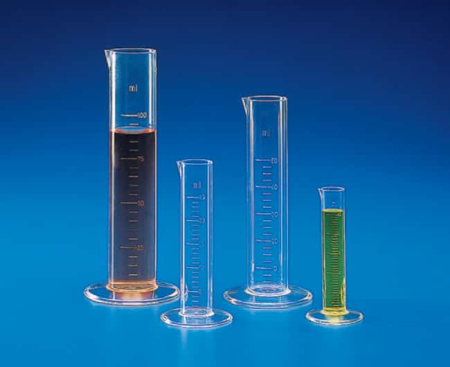 Kartell™ (TPX™) PMP Low Form Measuring Cylinders Capacity: 25mL Kartell™ (TPX™) PMP Low Form Measuring Cylinders