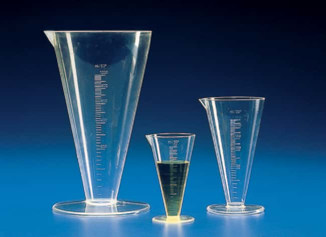 Kartell™ (TPX™) PMP Graduated Conical Measures Capacity: 100mL prodotti trovati