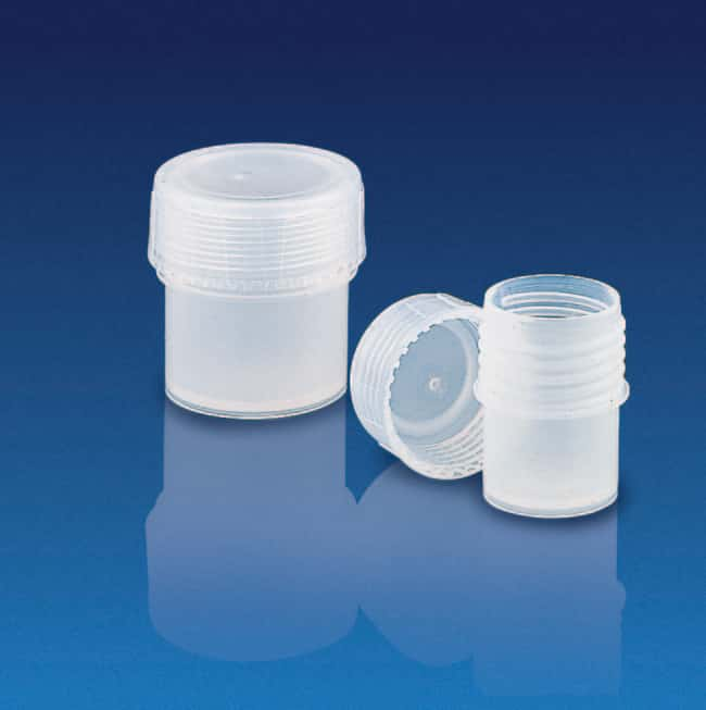 Kartell™ PFA Sample Container with Screw Cap CapacityMetric: 90mL Specimen Containers
