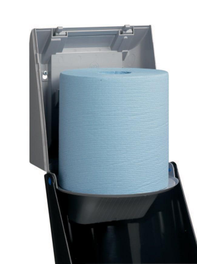Kimberly-Clark™Centrefeed Roll Wiper Dispenser Color: Blue Kimberly-Clark™Centrefeed Roll Wiper Dispenser