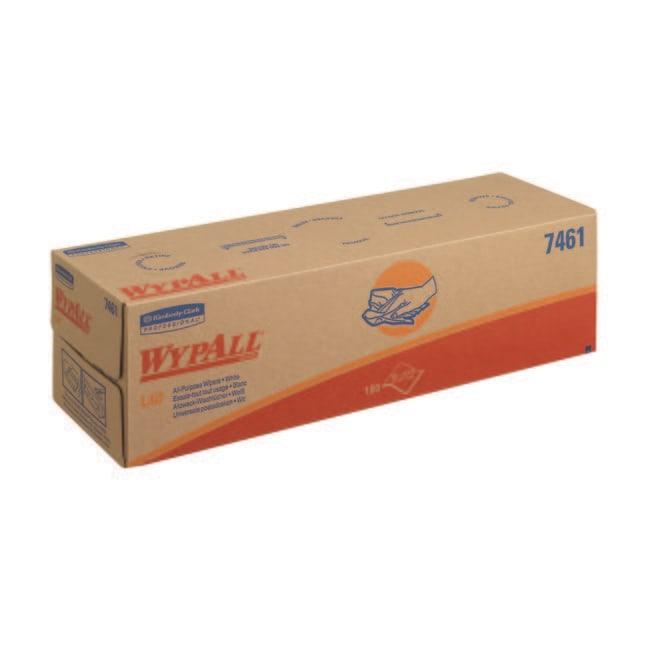 Kimberly-Clark™Wypall L40 Wischtuch, weiß Abmessungen L x B: 250x415mm Kimberly-Clark™Wypall L40 Wischtuch, weiß