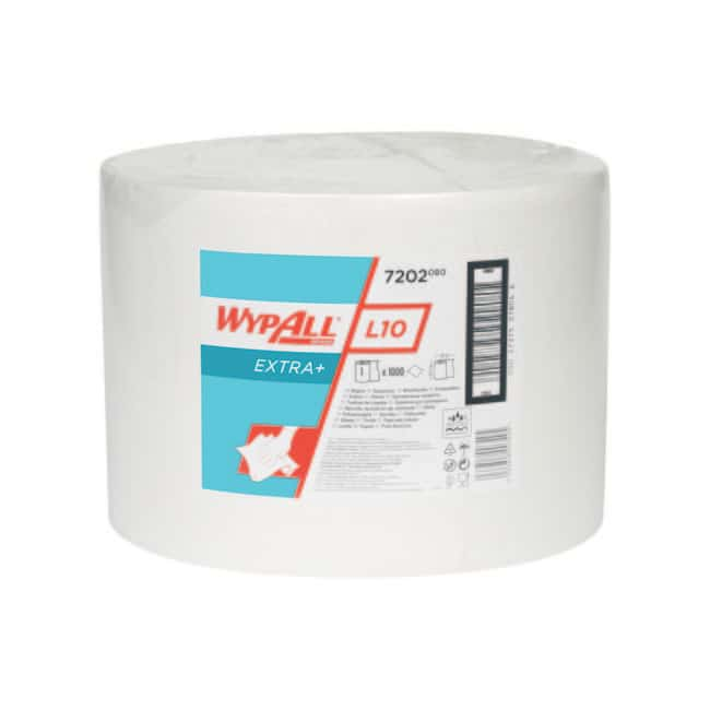 Kimberly-Clark™ Professional WYPALL™ L10 EXTRA+ Wipers DimensionsLxW: 38 x  23.5cm Kimberly-Clark™ Professional WYPALL™ L10 EXTRA+ Wipers