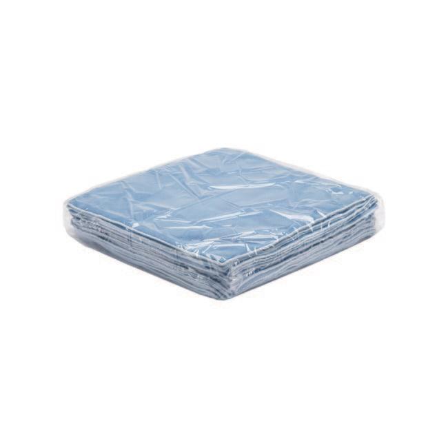 Kimberly-Clark™KIMTECH™ Microfibre Polishing Cloths Color: Blue Kimberly-Clark™KIMTECH™ Microfibre Polishing Cloths