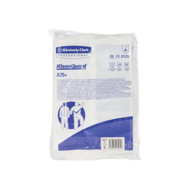 Kimberly-Clark™ ProfessionalKLEENGUARD™ A25+ Hooded Splash Protection Coveralls Size: Large Kimberly-Clark™ ProfessionalKLEENGUARD™ A25+ Hooded Splash Protection Coveralls