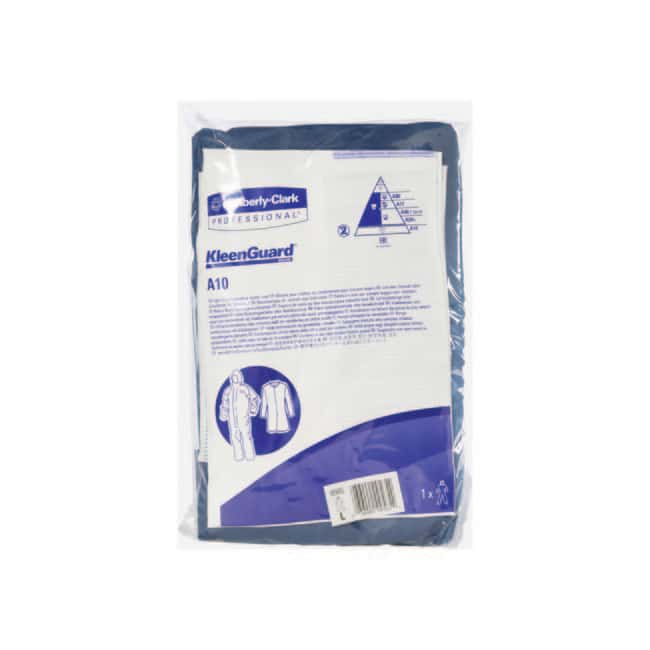 Kimberly-Clark™KLEENGUARD™ A10 Light Duty Coveralls with Hood Size: Large, Color: Blue Kimberly-Clark™KLEENGUARD™ A10 Light Duty Coveralls with Hood
