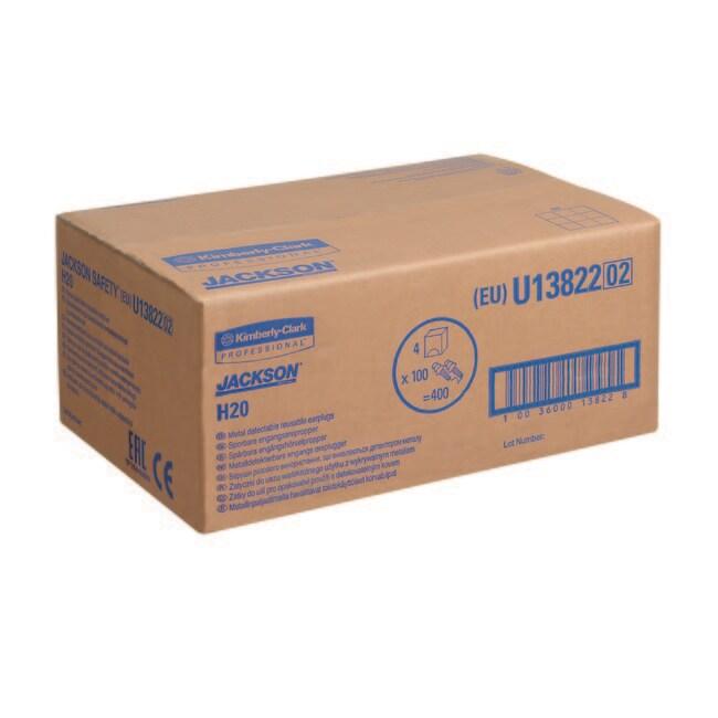 Kimberly-Clark™JACKSON SAFETY™ Metal Detectable Ear Plug Quantity: 4 Boxes of 100 Kimberly-Clark™JACKSON SAFETY™ Metal Detectable Ear Plug
