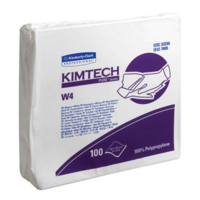 Kimberly-Clark™Kimtech Pure™ W4 Wipers White Controlled Environment Wipers
