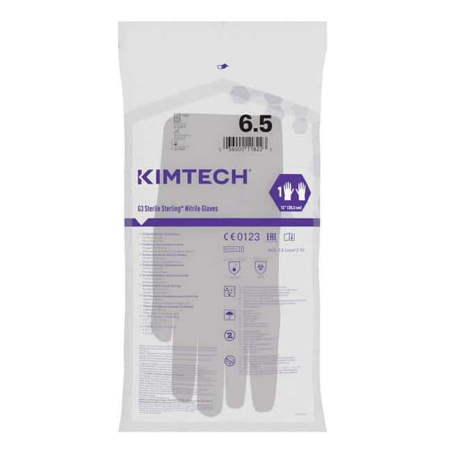 Kimberly-Clark Professional Kimtech G3 Sterile Sterling Nitrile Hand Specific