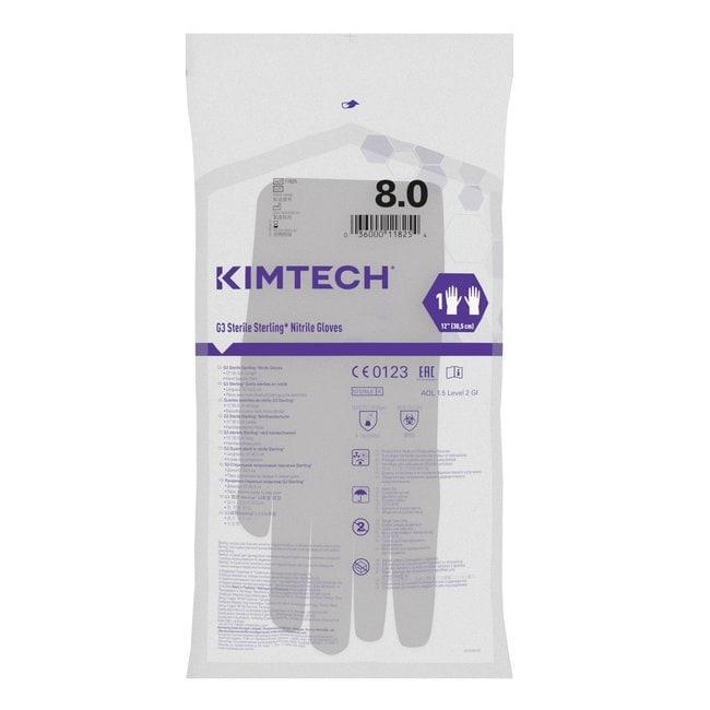 Kimberly-Clark™Kimtech™ G3 Sterling™ Sterile Nitrile Gloves Size: 8 Kimberly-Clark™Kimtech™ G3 Sterling™ Sterile Nitrile Gloves