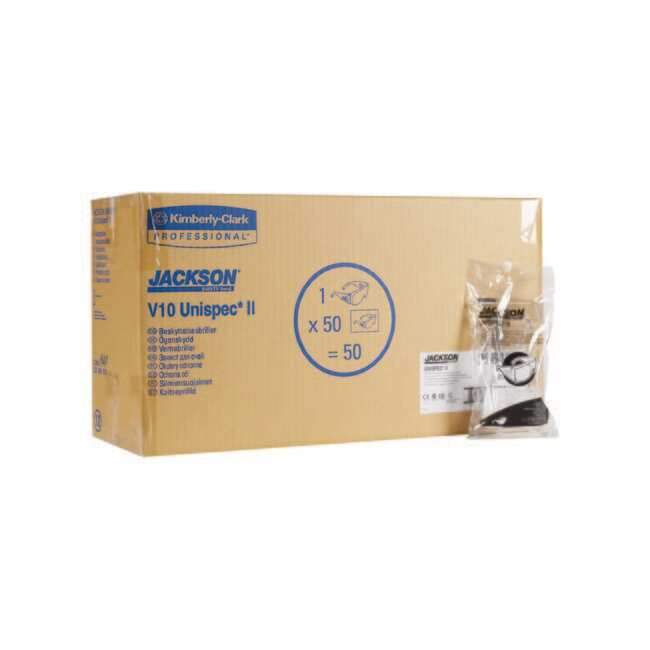 Kimberly-Clark™ Professional X12 LUNET V10 UNISPEC II INCOLORE INCOLORE  Clear lens Lunettes de sécurité polyvalentes d0380d7b92c1